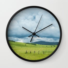 Manjača field Wall Clock