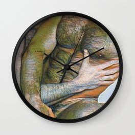 When Harry Met Sully Wall Clock