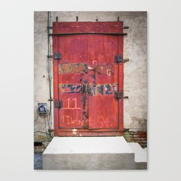 In the Door series, from my street photography/doors collection Canvas Print