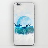 twilight iPhone & iPod Skins featuring Twilight by Lynette Sherrard Illustration and Design