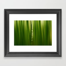 grass greenery Framed Art Print