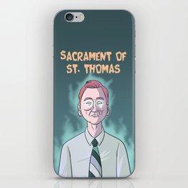 Sacrament of St. Thomas iPhone Skin