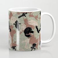 camo Mugs featuring Endor Battle Camo by Josh Ln
