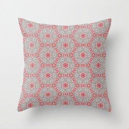 V28 Moroccan Pattern Design. Throw Pillow