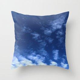 Ocean Waves in the Sky Throw Pillow