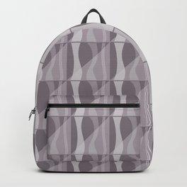 Simple Geometric Pattern 2 in Aubergine Backpack