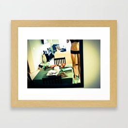 Urban Legs  Framed Art Print