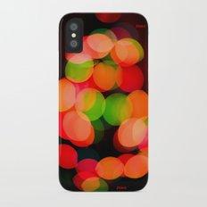 Peace & Joy iPhone X Slim Case