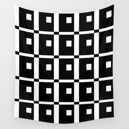 Tribute to mondrian 1- piet,geomtric,geomtrical,abstraction,de  stijl,composition. Wall Tapestry