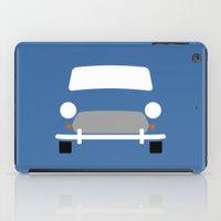 mini cooper iPad Cases featuring Mini Cooper ( Mk VII ) by Nick Steen