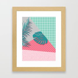Santa Monica #society6 #decor #buyart Framed Art Print