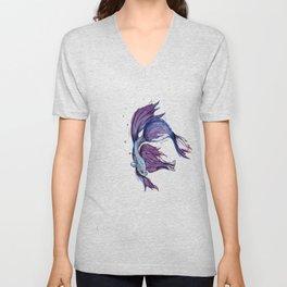 Beta Fish Unisex V-Neck