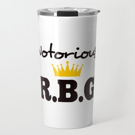 Notorious R.B.G Travel Mug