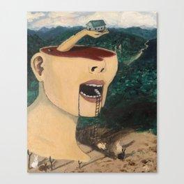 """Ascending Into Consciousness""  Canvas Print"