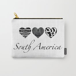 South American heart pattern Carry-All Pouch