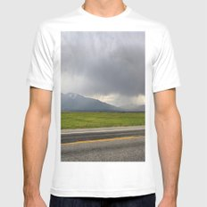 Summer Storm Mens Fitted Tee White MEDIUM