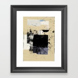 misprint 83 Framed Art Print