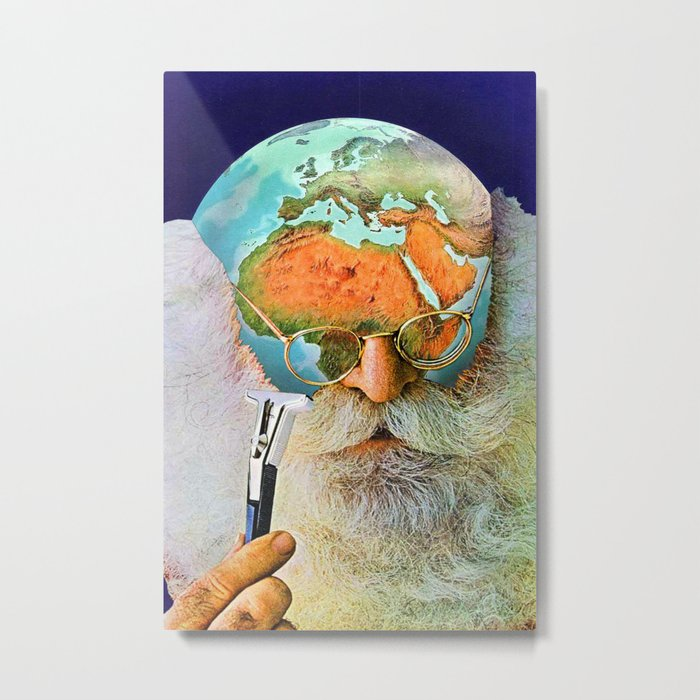 Deforestation Metal Print
