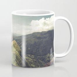 Eagle soaring over Ella mountains Coffee Mug