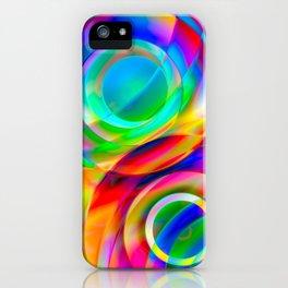 Circle Frenzy iPhone Case
