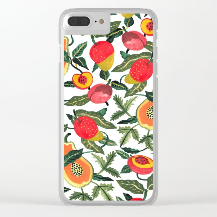 Fruity Clear iPhone Case