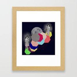 Hectagon Life II: I Found You  Framed Art Print