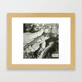 brookie Framed Art Print