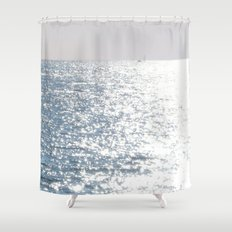 Sea reflections Shower Curtain