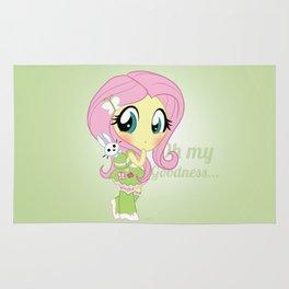 Cute Equestria Girls - Fluttershy Rug