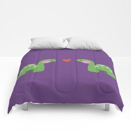 Jurassic Love Comforters