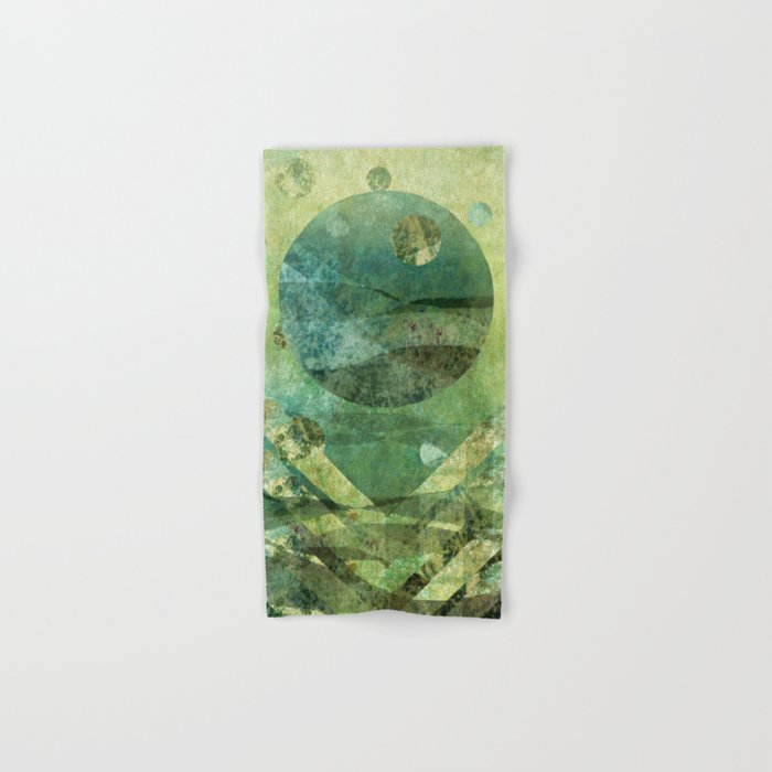Marine Moon Hand & Bath Towel