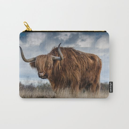 Bull animal 4 Carry-All Pouch