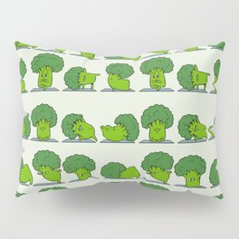 Broccoli Yoga Pillow Sham