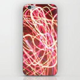 corazón luz iPhone Skin