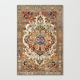 Ferahan Arak  Antique West Persian Rug Print Canvas Print