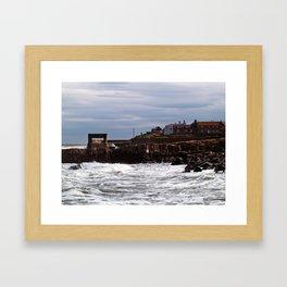 Craster Framed Art Print
