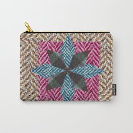 Tweed star Carry-All Pouch