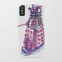 dalek iPhone & iPod Cases featuring Dalek by BlueAcorn