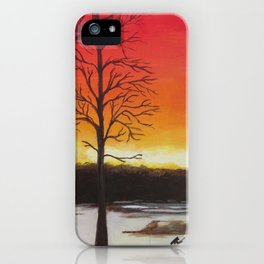Home of Beautiful Sunsets iPhone Case