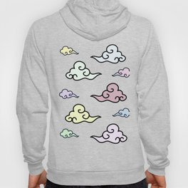 Chinese Clouds (transparent) Hoody