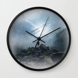 Heaven Hikes Wall Clock