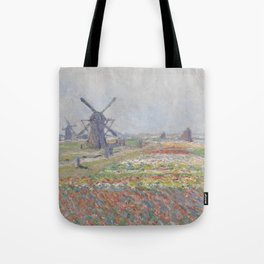 Tulip Fields near The Hague Tote Bag