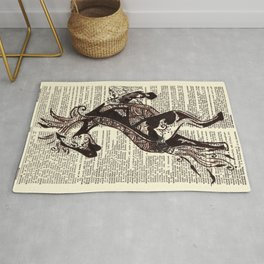 Fierce (Lunar New Year 2014 Horse) Rug