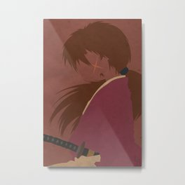 Ruroni Kenshin Metal Print