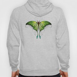 Green Butterfly Hoody