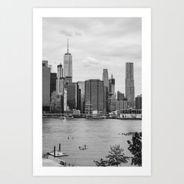 Summer on the Water Art Print