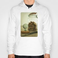 tim shumate Hoodies featuring Brie Boy - Tim Burton by PaperTigress