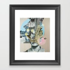 it´s all in your mind · Statue Framed Art Print