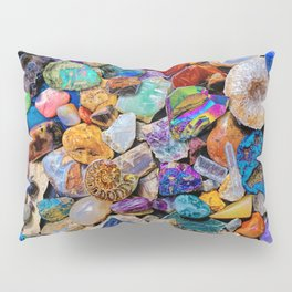 Rocks and Minerals, Geology Pillow Sham