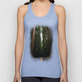 The Road to Wisdom - Nature Photography Unisex Tank Top